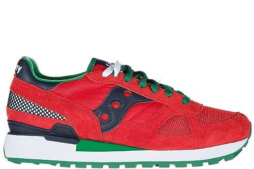 Saucony Zapatos Zapatillas de Deporte Hombres Shadow Original Rojo: Amazon.es: Zapatos y complementos
