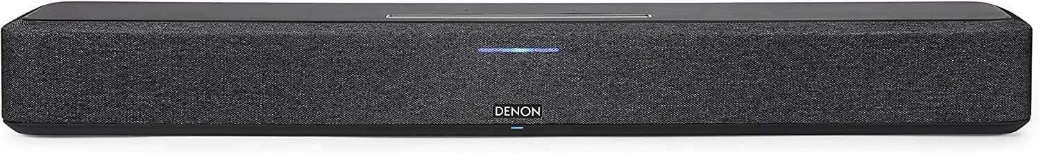 Powerful Denon Home Sound Bar 550, a Compact Soundbar for Your Television and Music. Engineered for Denon 3D Audio with Dolby Atmos and DTS:X. Syncs with Other Denon Home and HEOS Built-in Products