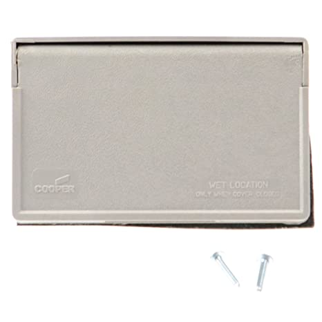 Amazon.com: Slater 3778 Single Exterior Outlet with Cover - 12V, 15 ...