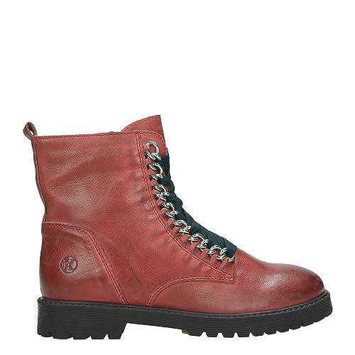 Schatz als seltenes Gut attraktiver Preis vollständige Palette von Spezifikationen Post Xchange Damen Stiefeletten Rot Schnürstiefel Schuhe ...