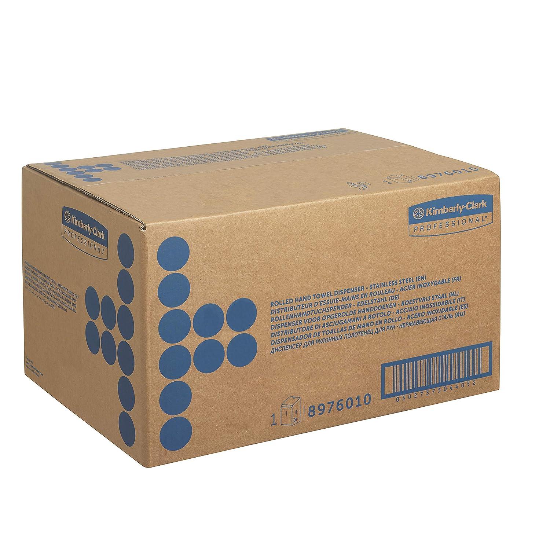 KIMBERLY-CLARK PROFESSIONAL* Dispenser di asciugamani 8971 Acciaio inox