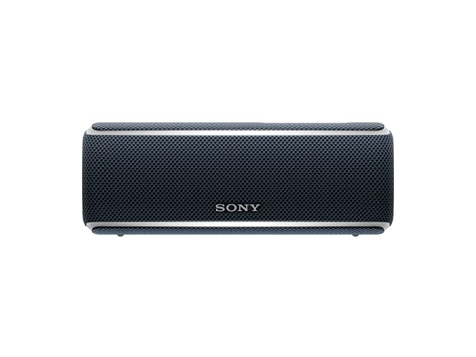 Sony Srs Xb21 Portable Wireless Waterproof Speaker With Extra Bass And 12 Hour Battery Life   Black by Sony