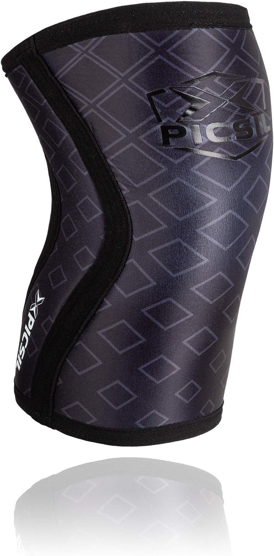 PICSIL Rodilleras (1 PAR) - 5mm Knee Sleeves - Rodilleras para ...