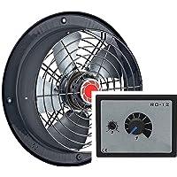 300mm Industrial Ventilador + 5A REGULADOR Ventilación extractor
