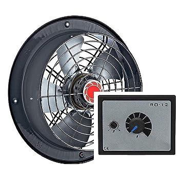 200mm Axialventilator Wandventilator Fensterventilator,Fenster-Wand Ventilator