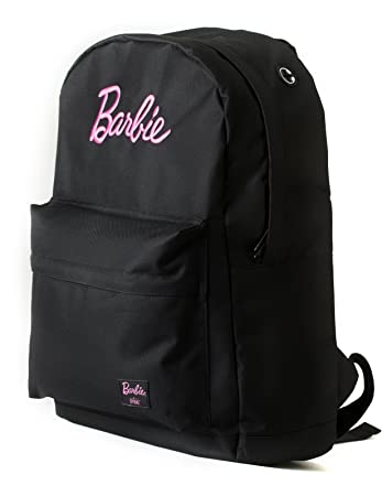 Amazon.com   Spiral Classic Barbie Backpack in Black   Casual Daypacks 92a2d80705