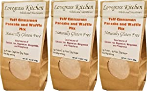 Teff Cinnamon Pancake and Waffle Mix (Box of 3)