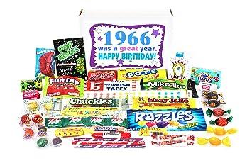 Amazon Com Woodstock Candy 1966 53rd Birthday Gift Box Of