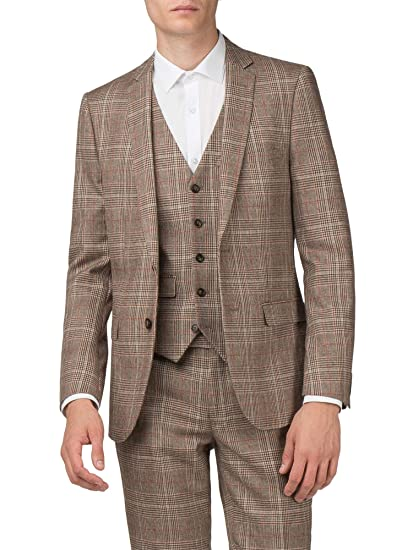 c0437a0f416b HARRY BROWN Sand Check Jacket  Amazon.co.uk  Clothing