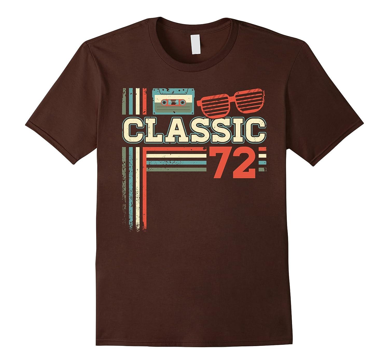 Classic 1972 Retro Vintage Radio 45th Birthday Gift Tshirt-T-Shirt