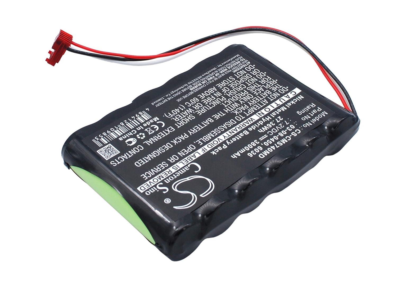 pearanett 3800 mAh/27.36 WHバッテリーと互換性Cas Medical NIBP 740 , 940 Xモニタ、NIBP 730、NIBP 750モニタ B01MTP084B