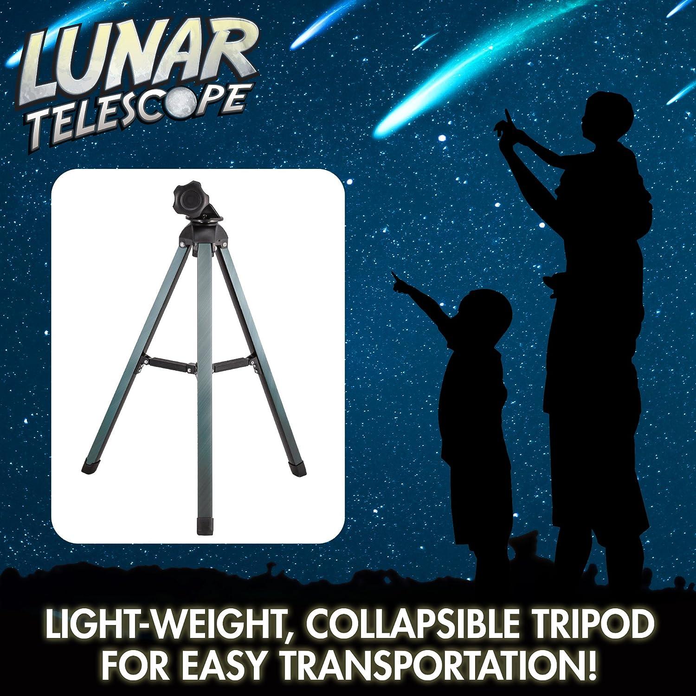 /Explorez la Lune et Ses Crat/ères Discover with Dr Cool Lunar T/élescope pour Enfants/