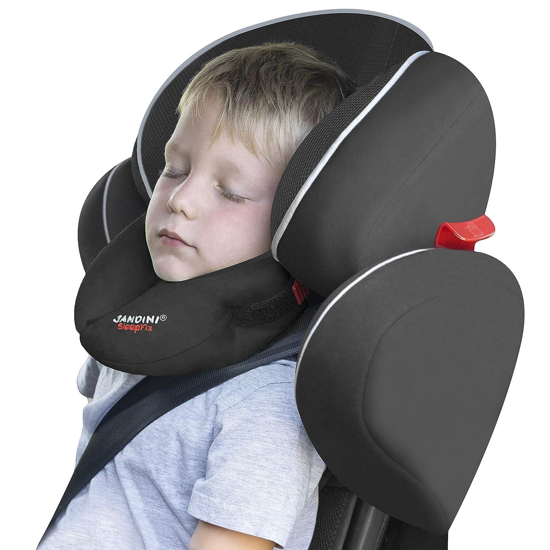 SANDINI SleepFix® Kids BASIC – Almohada para niños/ Reposacabezas/ Almohada para el cuello con función de soporte – Accesorio para asientos infantiles ...