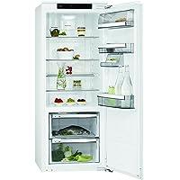 AEG SKE81426ZC Kühlschrank  / 153 l Kühlschrank ohne Gefrierfach / 59 l 0 °C-Kaltraum / getrennte Luftzirkulation & selbstschließende Tür / Einbaukühlschrank (A++) / Höhe: 140 cm / weiß