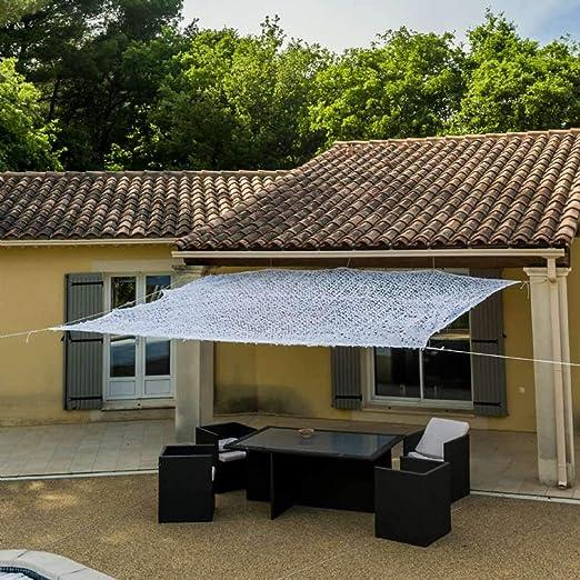 WerkaPro 10105 - Toldo calado de poliéster rectangular para balcón, terraza y jardín: Amazon.es: Jardín