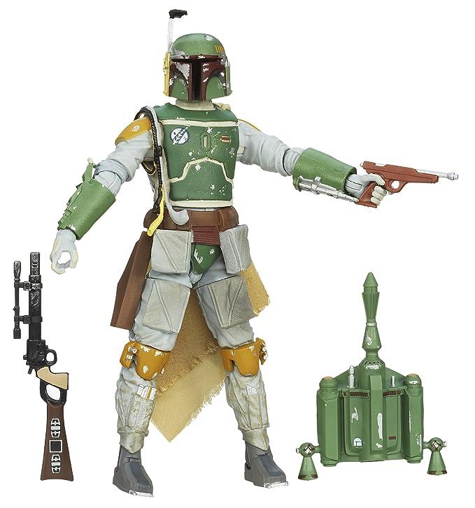 Amazon.com: Star Wars The Black Series # 06 Boba Fett (ESB ...