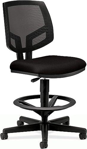 The HON Company GA10.T HON5715GA10T HON Volt Mesh Back Task Upholstered Adjustable Office Stool
