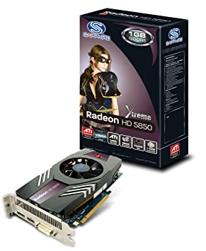 Sapphire HD5850 Xtreme - Tarjeta gráfica (PCI-e, Memoria de ...