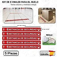 CUAC REVOLUTION Kit 5 Pegatinas Vinilo Suelo Antideslizante