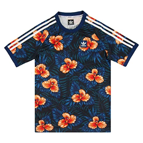 Adidas Floral Jersey Camiseta, Hombre, (Multco), FR : S (Taille