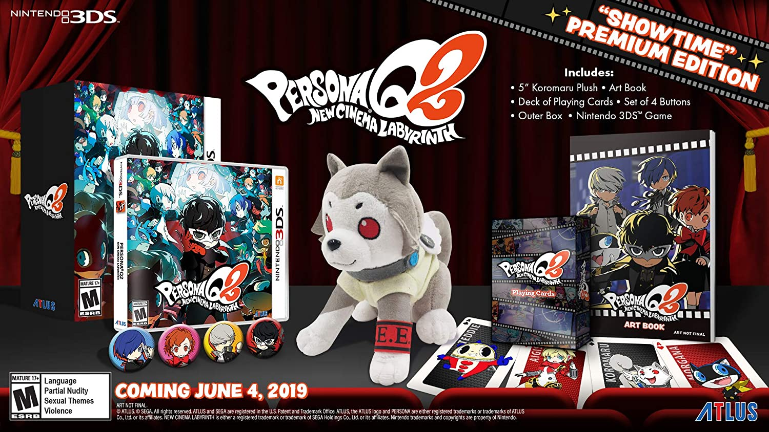Persona Q2: New Cinema Labyrinth Launch Edition - Nintendo 3