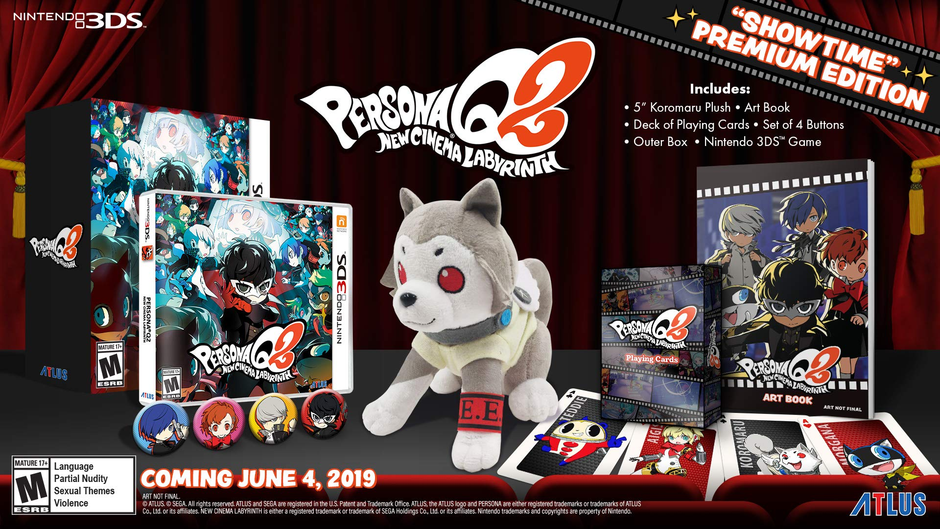 Persona Q2: New Cinema Labyrinth ''Showtime'' Premium Edition - Nintendo 3DS