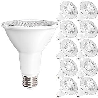 Sunco Lighting 10 Pack PAR30 LED Bulb, 11W=75W, Dimmable, 2700K Soft White, 850 LM, E26 Base, Flood Light, Indoor/Outdoor - UL & Energy Star
