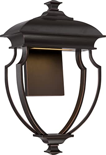 NUVO 62 623 LED Outdoor Wall Mount, Unknown, Bronze Dark