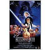 "Trends International 24X36 Star Wars: Return of The Jedi - One Sheet Wall Poster, 24"" x 36"", Unframed Version"