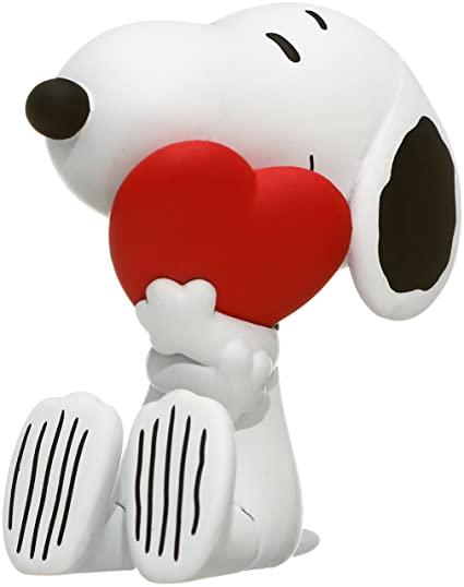 bc6e52a8e9 Image Unavailable. Image not available for. Color  Medicom Peanuts  Snoopy  with Heart Ultra ...