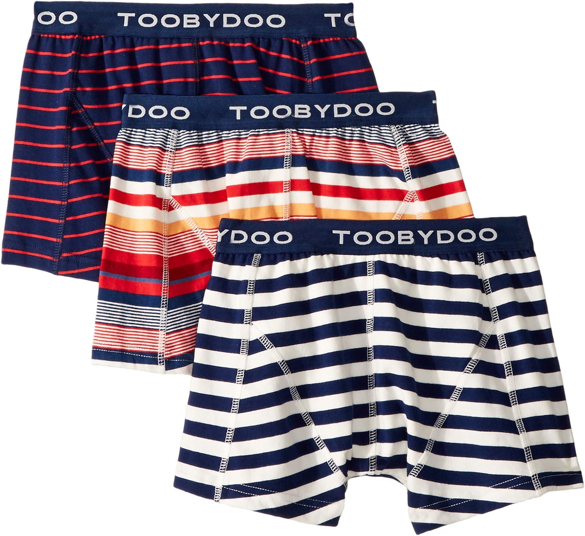 Toobydoo Baby Boy's Oui Paris! 3-Pack Underwear (Infant/Toddler/Little Kids/Big Kids) Multi 11/12 Years (Big Kids)