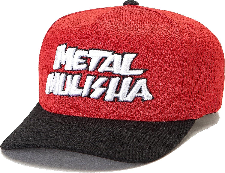 Gorra Flexfit Visera Plana Metal Mulisha Division Negro-Rojo (L/Xl ...