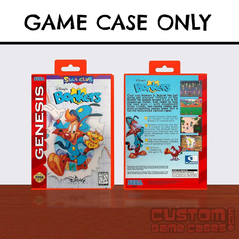 Amazon.com: Sega Genesis Disneys Bonkers - Case: Handmade