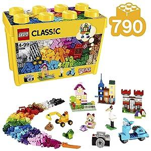 LEGO® Büyük Boy Yaratıcı Yapım Kutusu, Çok Renkli (10698)