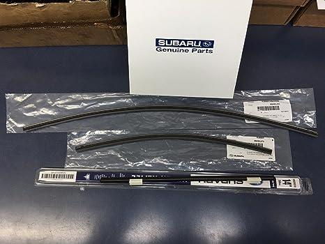 2015 – 2017 Subaru Outback Legacy frontal y trasero para parabrisas limpiaparabrisas Recambio Set