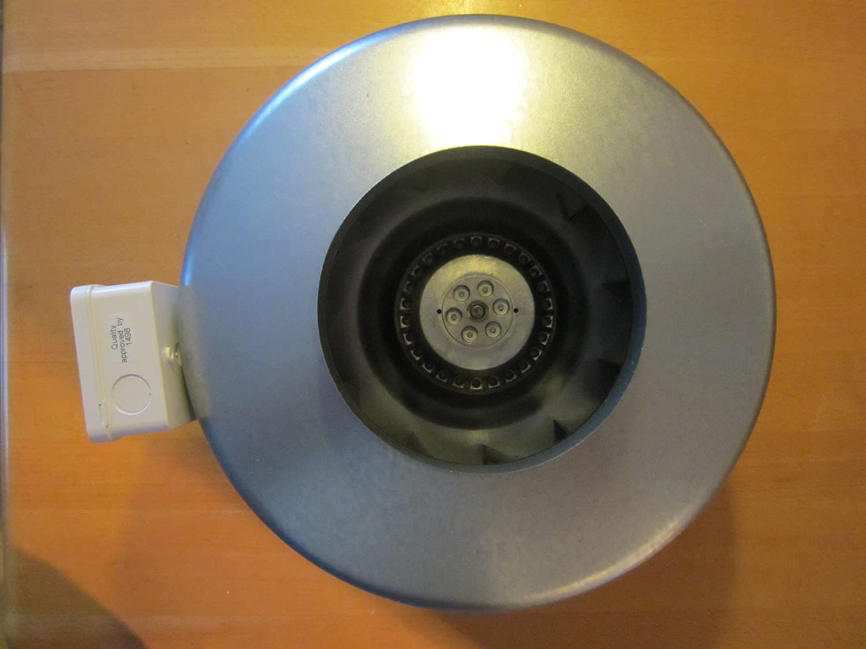 Helios Radial-Rohrventilator RR 160 C Ventilator für Rohreinbau 4010184056577