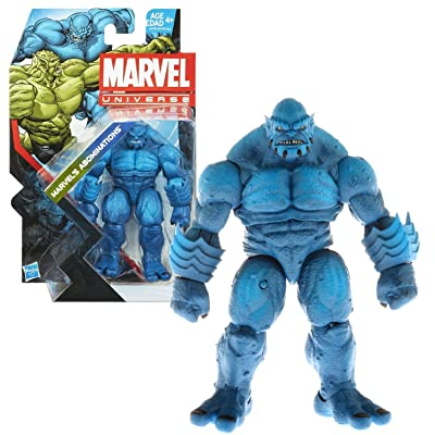 Hasbro Year 2013 Marvel Universe Series 5 Single Pack 5 Inch Tall Action Figure Set #019 - MARVEL'S ABOMINATION Variant Blue A-BOMB: Toys & Games