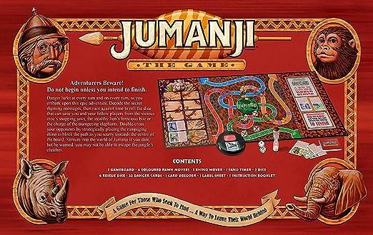 JUMANJI JBG000001 - Juego de tablero, Versión Inglesa, Multicolor ...