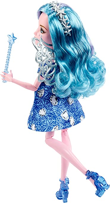 EVER AFTER HIGH FARRAH GOODFAIRY DOLL REPLACEMENT SILVER ANGEL FAIRY WINGS ONLY