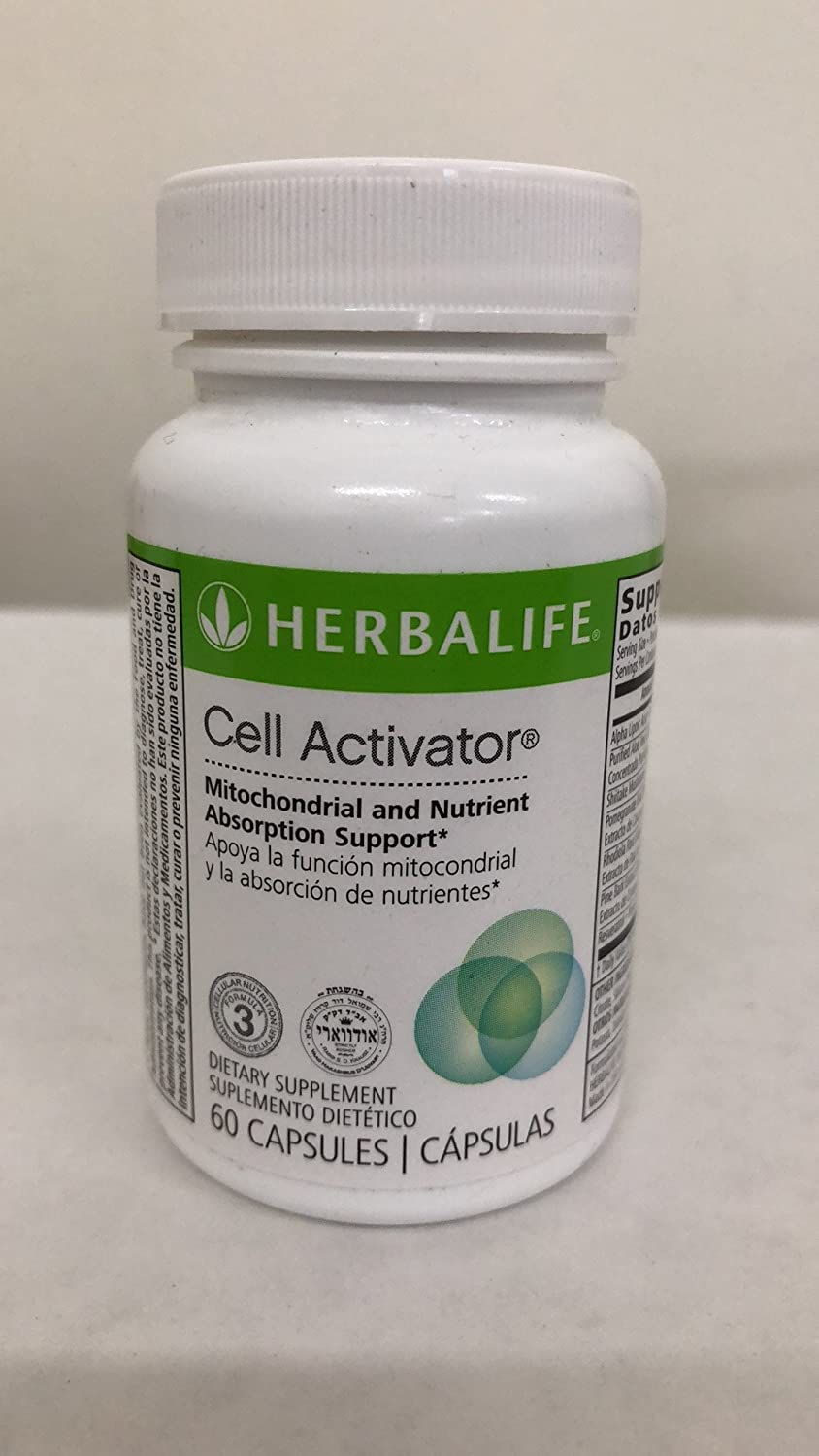 Amazon.com: Cell Activator from Herbalife 60 Capsules: Health & Personal Care