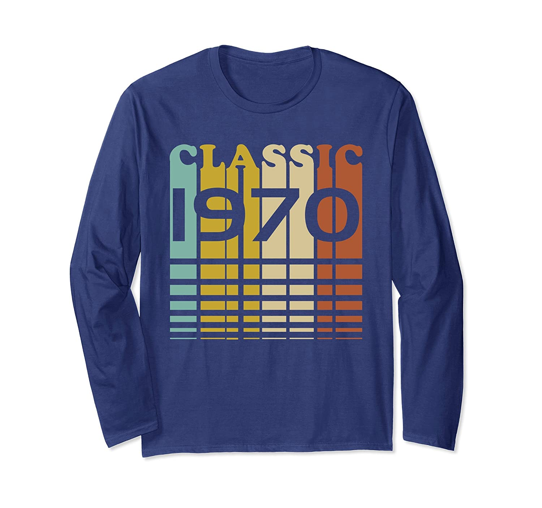 1970 Classic Birthday 47th B-Day Gift Long Sleeve Shirt-Rose