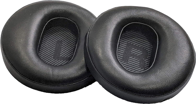 Coussinets de Rechange compatibles avec Les /écouteurs Fostex TH-600 TH-610 TH-900//900MK2 E-MU Teak Cuir Peau de Mouton Noir Massdrop TH-X00 et TR-X00