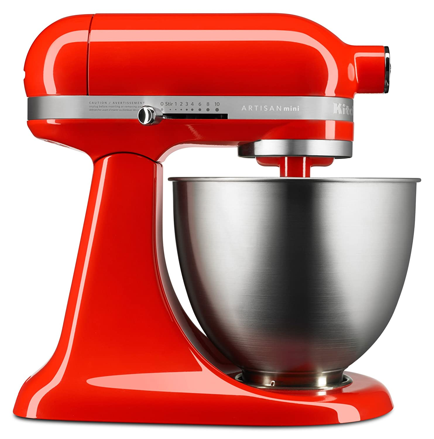 Artisan Mini Series Tilt-Head Stand Mixer, 3.5 quart, Hot Sauce