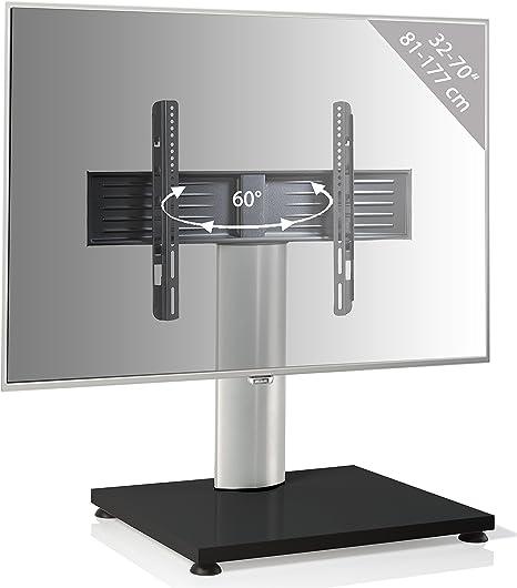 Vcm Lcd Tv Ständer Fernsehtisch Standfuss Glas Standfuß Halterung Höhenverstellbar Fernsehstand Led Fernseher Stand Flachbildschirm Aufsatz Möbel Rack Vesa Tischständer Universal Küche Haushalt