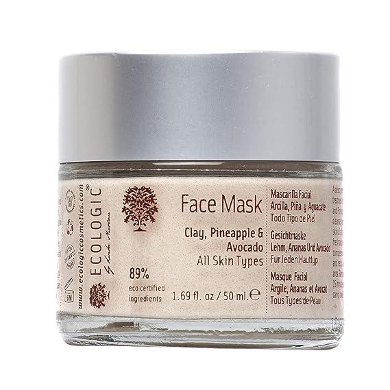 Mascarilla Facial hidratante y rejuvenecedora (Arcilla, Piña ...