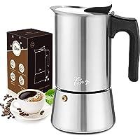 Espresso maker inductie geschikte roestvrijstalen mokka pot 200ml / 4 kopjes espresso maker set