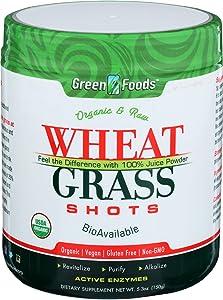 Green Foods, Wheat Grass Shot Organic, 5.3 Ounce