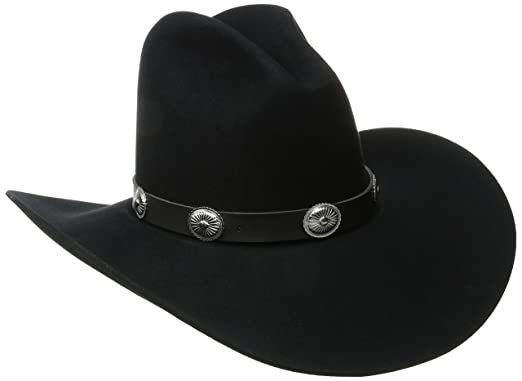98972d9d0c3f6 Bailey of Hollywood Western Men s Wool Felt Tombstone Hat at Amazon Men s  Clothing store