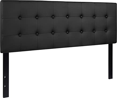 Flash Furniture Lennox Tufted Upholstered Queen Size Headboard