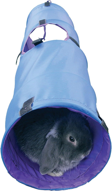 Rosewood - túnel de Actividades para Jugar para pequeños Animales como Conejos